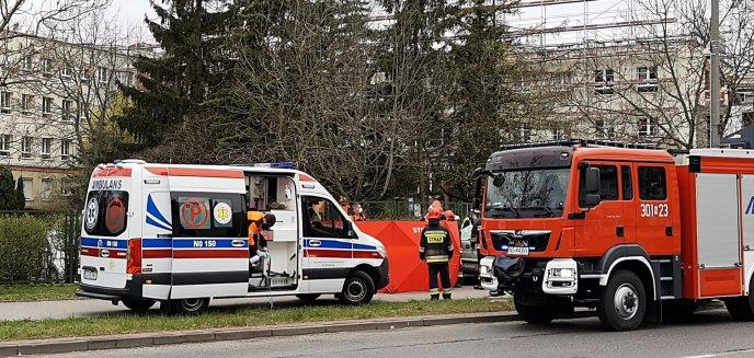 Artykuł: Tragiczny wypadek na ul. Żołnierskiej. 61-latek zasłabł za kierownicą [ZDJĘCIA]