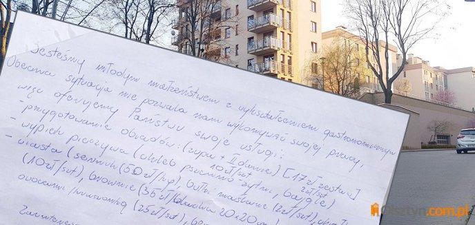 Młode małżeństwo straciło pracę w Olsztynie przez koronawirusa. Na osiedlu zamieścili przejmujące ogłoszenie