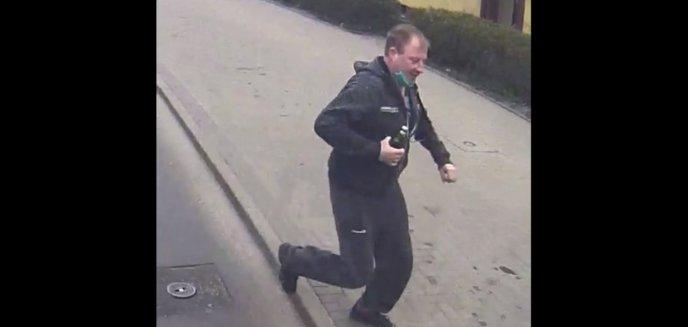 Artykuł: Zatorze. Z piwem w ręku nie zdążył na autobus MPK. Odegrał się. I to jak! [WIDEO]