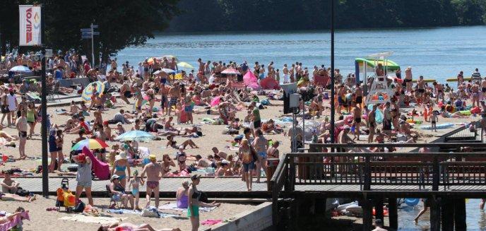 Artykuł: Od czerwca będziemy mogli się kąpać tylko na trzech plażach w Olsztynie. Dlaczego?