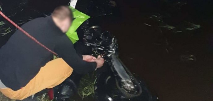 Artykuł: Zniszczył szlaban i próbował ukraść motor. Został przyłapany przez sąsiadów