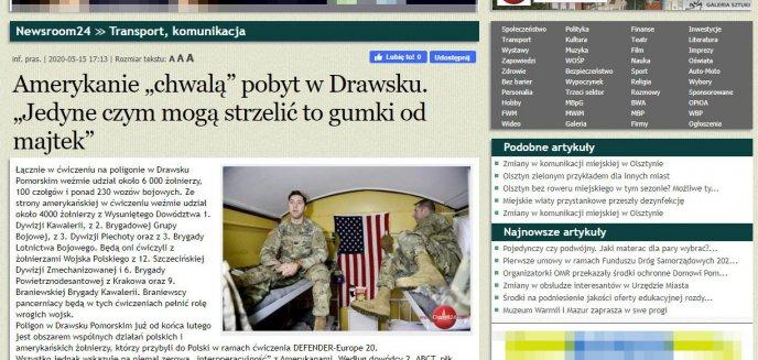 Artykuł: Lokalny portal Olsztyn24.com propaguje Kreml? Służby specjalne ostrzegają