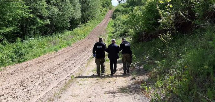 Artykuł: Rosjanie chcieli nielegalnie dostać się do Niemiec. Ukrywali się w krzakach [WIDEO]