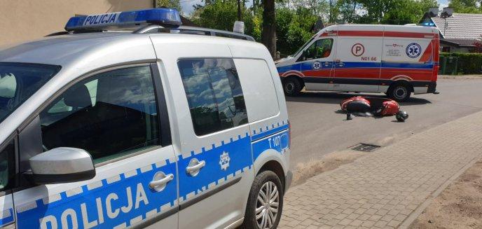 Artykuł: Weekend na drogach powiatu. Ranny motorowerzysta, kierowca z 4 promilami we krwi!