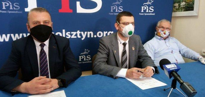 Artykuł: PiS krytykuje rządy Piotra Grzymowicza. ''Ile firm wyprowadza się z Olsztyna?''