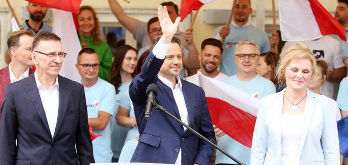 Artykuł: Tłumy na wiecu wyborczym Rafała Trzaskowskiego w Olsztynie [ZDJĘCIA, WIDEO]