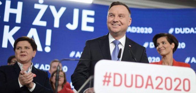 Artykuł: Są oficjalne wyniki wyborów prezydenckich. Pierwszą turę wygrywa Andrzej Duda