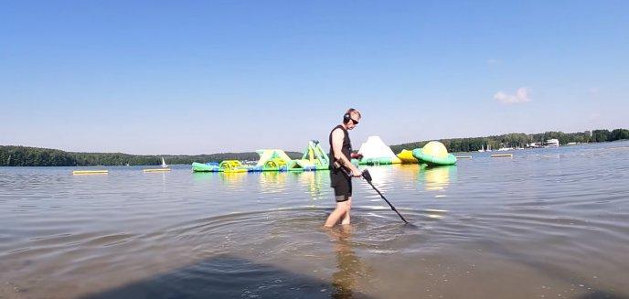 Artykuł: Jakie przedmioty gubią ludzie na plaży miejskiej w Olsztynie? [WIDEO]