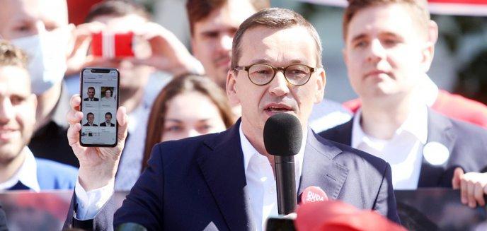 Artykuł: Wybory 2020. Premier Mateusz Morawiecki odwiedził Olsztyn [ZDJĘCIA, WIDEO]