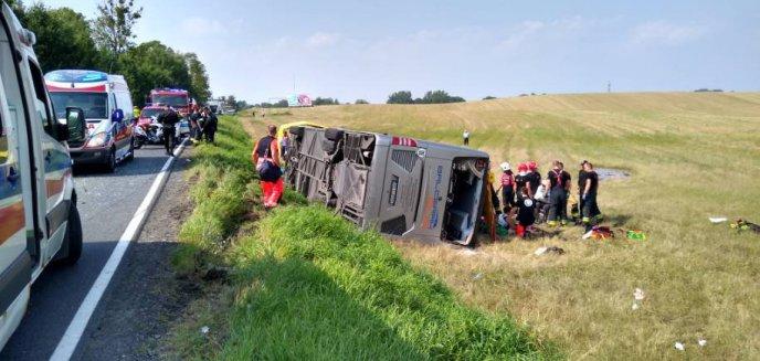 Artykuł: Wypadek autobusu z pielgrzymami. Sprawca odpowie za spowodowanie katastrofy w ruchu lądowym