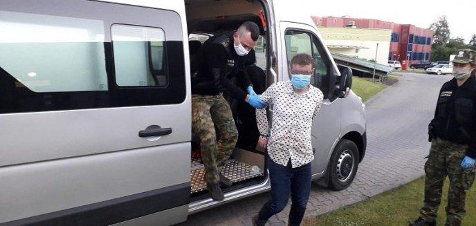 Artykuł: Nielegalnie przekroczył granicę z Polską. Został złapany [WIDEO]