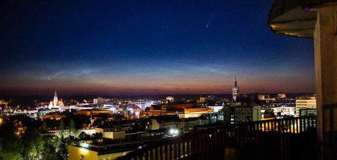 Patrzcie w niebo. Nad Olsztynem można zaobserwować niezwykłe zjawisko!
