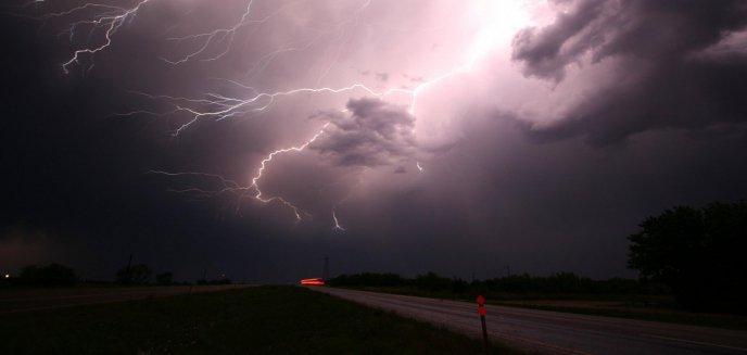 Artykuł: Uwaga! Nad Olsztynem mogą przejść burze z gradem!