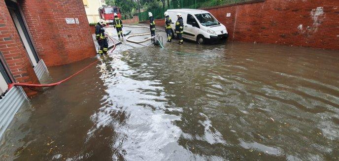Artykuł: Opłakane skutki ulewy w Olsztynie. Zalało Izbę Administracji Skarbowej! [ZDJĘCIA]