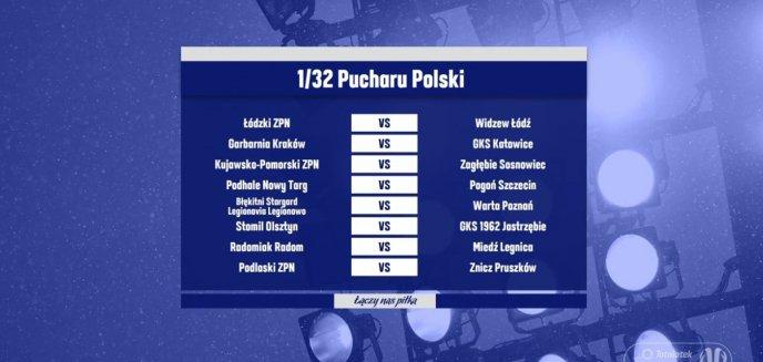 Wiemy, z kim zagra Stomil Olsztyn w 1/32 finału Pucharu Polski!