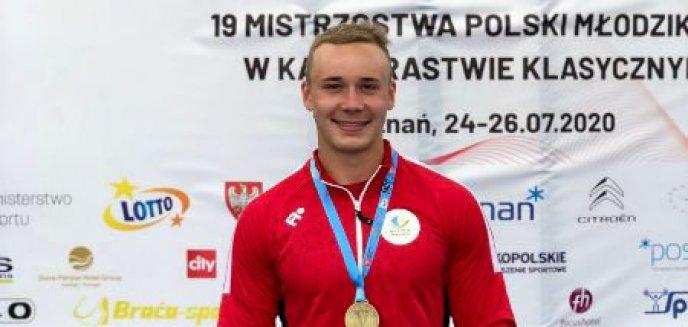 Artykuł: Kajakarstwo. Przyjechał z Chełmży i zdobył złoto dla Olsztyna
