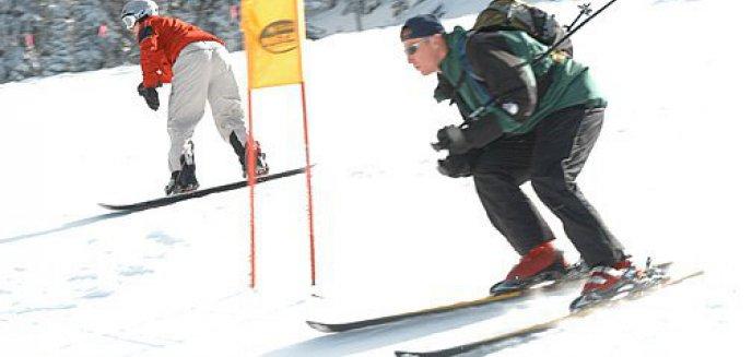 Artykuł: Amatorom sportów zimowych nie straszny śnieg i mróz