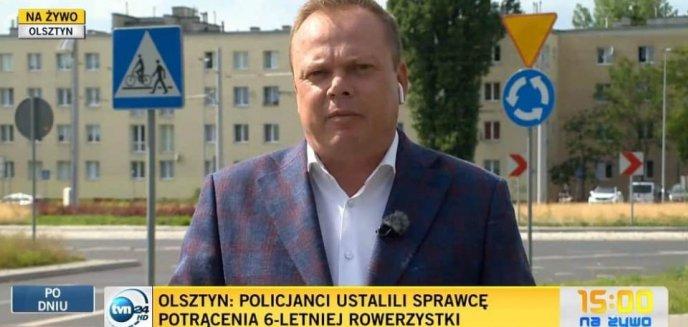 Wpadka TVN24. Pomylili Olsztyn z... Toruniem