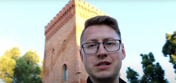 Turystyka. Olsztyński youtuber z wizytą w pierwszej stolicy Warmii [WIDEO]