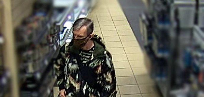 Młody mężczyzna nałożył maseczkę i... ukradł sprzęt elektroniczny ze sklepu w Olsztynie