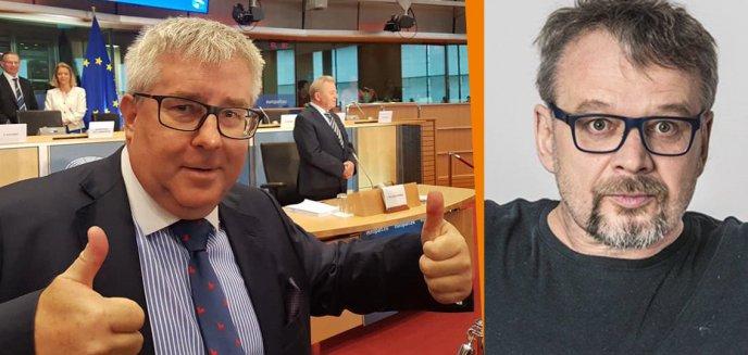 Artykuł: Komik z Olsztyna, Piotr Bałtroczyk po raz kolejny krytykuje PiS: ''Ryszard Czarnecki, dobrowolny uchodźca z krainy rozumu i przyzwoitości''