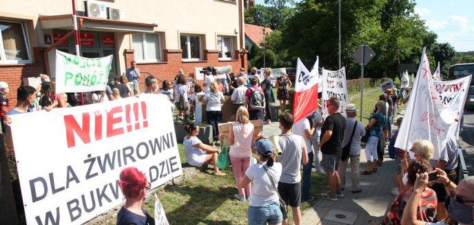 Artykuł: Mieszkańcy gminy Dywity nie chcą żwirowni. Protesty pod urzędem [ZDJĘCIA, WIDEO]