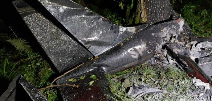 Artykuł: Tragiczny wypadek samolotu pod Jezioranami. Prokuratura wszczyna śledztwo