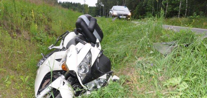 Artykuł: Ruszył proces policjanta, który śmiertelnie potrącił motocyklistę. Nie przyznaje się do winy