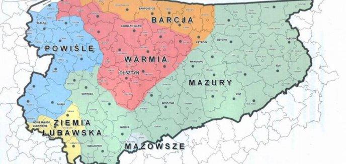 Artykuł: Olsztyn to Warmia. Gdzie przebiega granica pomiędzy Warmią a Mazurami? [MAPA]