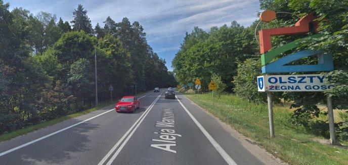 Artykuł: Nie wiadomo kto zarządza fragmentem drogi od Olsztyna do obwodnicy