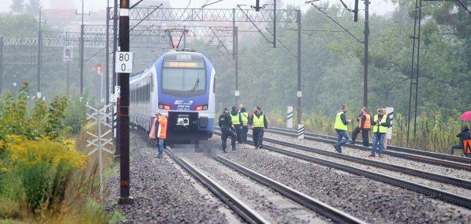 30-letni mężczyzna rzucił się w Olsztynie pod pociąg [ZDJĘCIA] [AKTUALIZACJA]