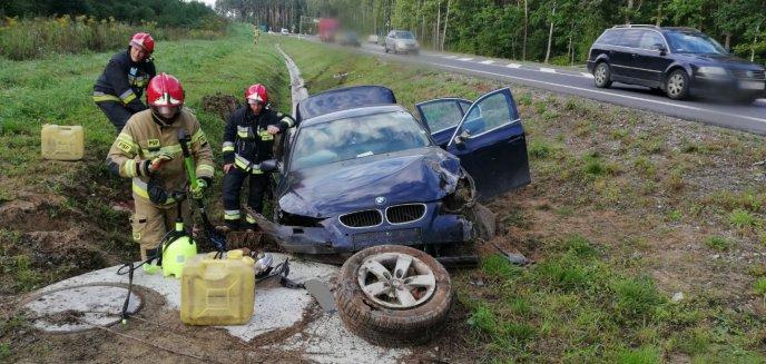 Artykuł: 18-latka rozbiła bmw pod Olsztynem. ''Wolno nie jechała'' [ZDJĘCIA]