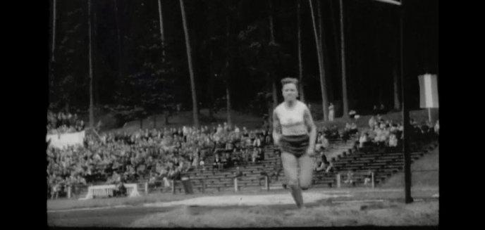 Zawody lekkoatletyczne z 1962 roku. Niezwykłe nagranie ze stadionu Leśnego w Olsztynie [WIDEO]