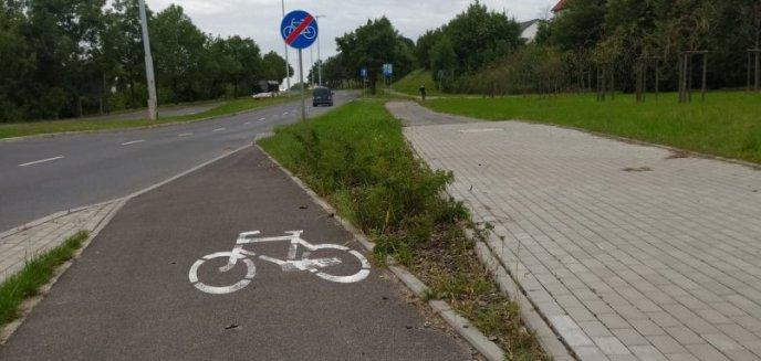 Artykuł: Rowerzyści przy os. Mazurskim zmuszeni wjechać na 4-pasmową ruchliwą jezdnię