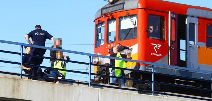 Artykuł: Chłopiec wpadł pod pociąg w Olsztynie [ZDJĘCIA]
