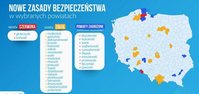 Artykuł: Koronawirus. Dwa powiaty z regionu w strefie żółtej!