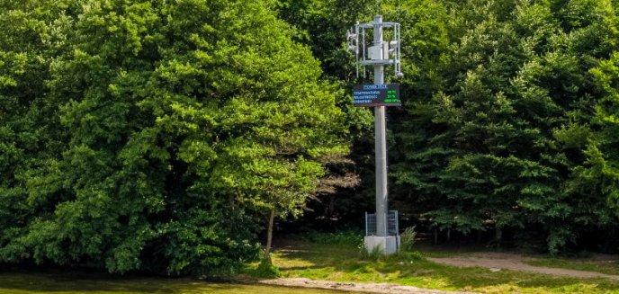 Artykuł: Bezpieczniej na olsztyńskich jeziorach. O zagrożeniu będą informowały maszty
