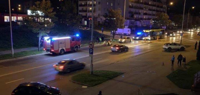 Artykuł: Taksówkarz potrącił 33-latkę na Jarotach