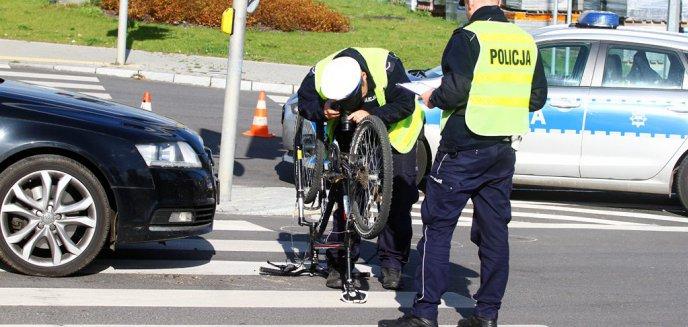 Artykuł: 63-latka potrąciła rowerzystę na ulicy Leonharda przy markecie OBI [ZDJĘCIA]