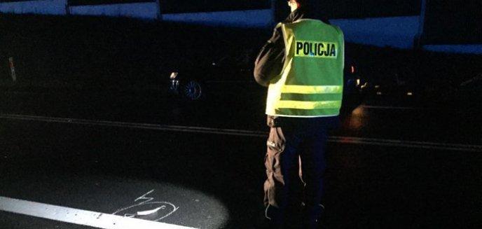 Artykuł: Śmiertelny wypadek pod Olsztynem. 35-letni pieszy szedł bez odblasków