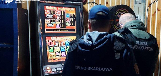 Pracownicy KAS z Olsztyna, mimo pandemii, walczą z hazardem