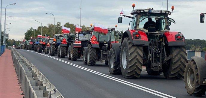 Artykuł: Protest rolników. Niektóre drogi na Warmii i Mazurach zablokowane [AKTUALIZACJA]