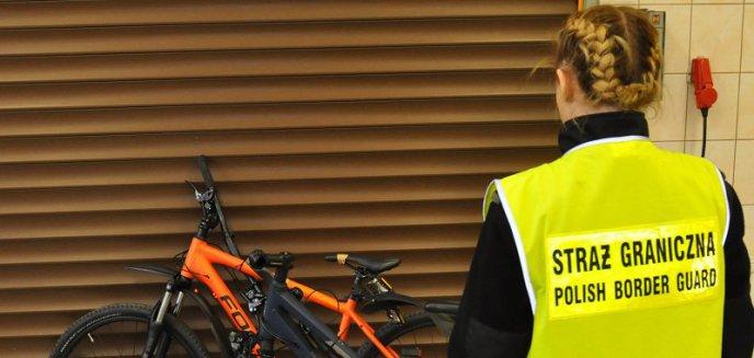 Mieszkaniec Kaliningradu przewoził skradzione w Niemczech rowery. Wpadł na granicy w Grzechotkach