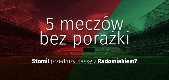 Artykuł: 5 meczów bez porażki – Stomil przedłuży passę z Radomiakiem?