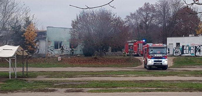 Artykuł: Po raz kolejny ogień trawił wnętrze pustostanu przy stadionie na al. Sybiraków
