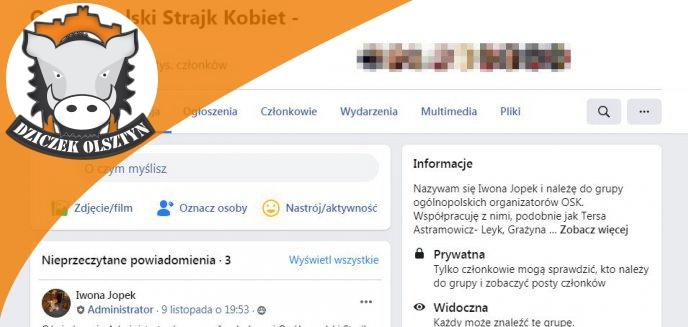 Artykuł: Jak żyć? Koordynatorki Strajku Kobiet w Olsztynie zrezygnowały z prowadzenia grupy na Facebooku