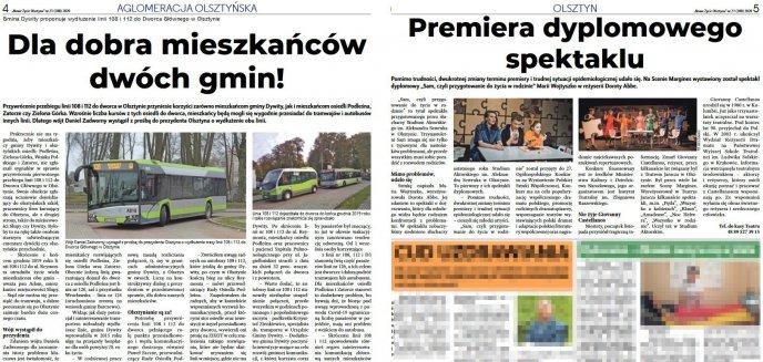 Nowe Życie Olsztyna. Wracaj do zdrowia, redaktorze Lik