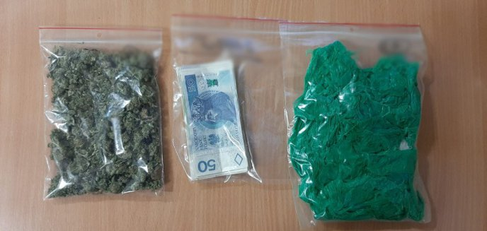 Artykuł: Dwaj 28-latkowie z Olsztyna zatrzymani za narkotyki. Jeden z nich rzucił się na policjantów