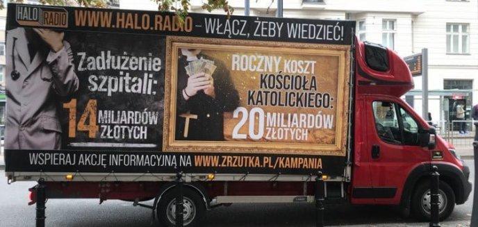 Artykuł: Do Olsztyna przyjedzie ciężarówka ''Ile kosztuje nas kościół''