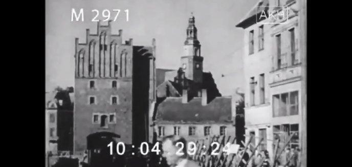Olsztyn w latach 40. XX wieku. Jak się prezentował? [WIDEO]